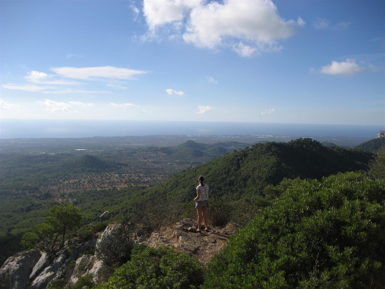 Uitzicht Sant Salvador